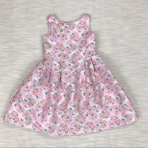 Janie and Jack Pink Floral Daydream Dress